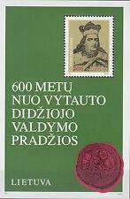 Litauen / Lieuva Nr. Bl. 3** (521**) Großfürst Vytautas