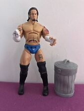 Figurine Catch Wrestling WWE Deluxe Aggression Best Of 2008 - CM PUNK + Poubelle