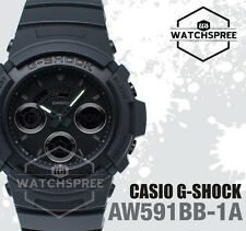 Casio G-Shock Special Color Model Basic Black Watch AW591BB-1A AU FAST & FREE*