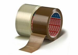 TESA Packband 64014 PP Paketklebeband, leise abrollend Klebeband - braun