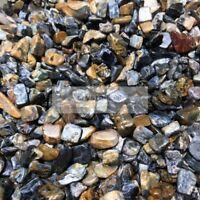 100g Wholesale Bulk RARE NATURAL Pietersite quartz crystal Tumbled Stone Healing