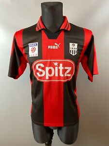 LASK LINZ 2000/2001 AWAY FOOTBALL JERSEY PUMA  BOYS SIZE 176