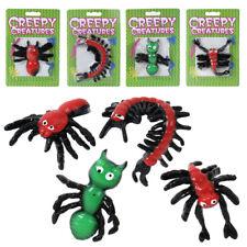 4x Insectos Araña Escarabajo Escorpión Glibber Plástico suave 8-15 cm Fiesta