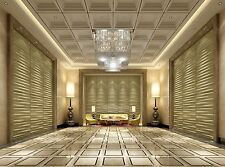 Eco Friendly 3D Decorative Wall Panels GROTO (Bamboo Fiber) 6 Tiles / 32 sq ft