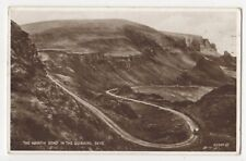 The Hairpin Bend In The Quiraing Skye 1947 Postcard 835b