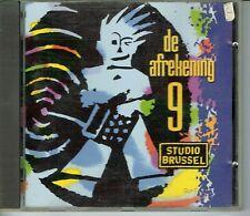 CD : De Afrekening 09 - Studio Brussel