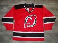 Vintage CCM New Jersey Devils NHL Hockey Stitched Jersey Uniform Size Medium Med
