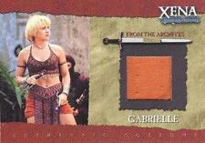 2003 Rittenhouse Archives Xena Warrior Princess GC3 Gabrielle Costume Card! RARE