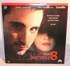 Laserdisc [D] * Jennifer 8 * Andy Garcia Uma Thurman Bruce Robinson Widescreen