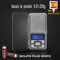 Balanza Digital Profesional de Precision Bascula Peso 0.01-200g Joyeria Oro GR