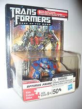 Transformers DOTM Optimus Prime Battle Scene Puzzle w/ Robot Heroes Figure 2011