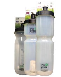 Nature BIO Trinkflasche aus 100% Grundstoff Zuckerrohr - 600ml / 750ml / 1000ml