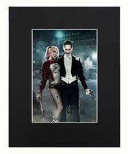 Joker & Harley Quinn Suicide Squad Movie Art Print Picture poster 8x10 U.S.