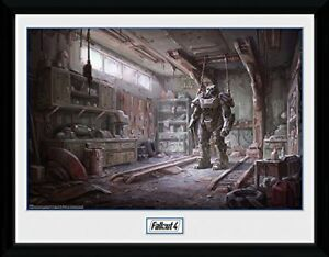 Fallout 4 Red Rocket Interior Gaming Framed Poster Print 40x30cm | 12x16 in