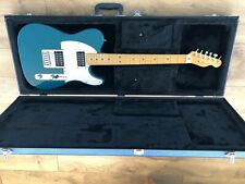 USA Fender Blue 1996 Telecaster American Electric Guitar {H H Tele}, with case.