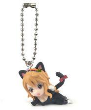 One Piece Cat Suit Nyan Mascot PVC SD Figure Cat Burglar ~ Nami Keychain @10998