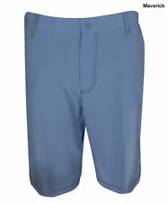 "New SLIGO Golf Mens Size 28"" Preston Maverick Flat Front Blue Shorts Free Ship"
