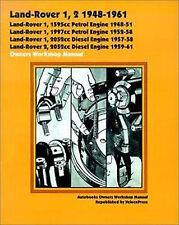 LAND ROVER SERIES 1 & 2 1948-1961 OWNER'S WORKSHOP MANUAL PETROL & DIESEL