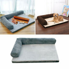 Corduroy Mattress Memory-Foam Pet Bed Dog Cat Kitten Puppy Sleeping Mat Pad Sofa