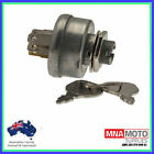 UNIVERSAL RIDE ON MOWER IGNITION SWITCH 5 SPADE TERMINALS 3 POSITION TYPE