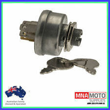 RIDE ON MOWER  IGNITION SWITCH 5 SPADE TERMINALS 3 POSITION TYPE UNIVERSAL