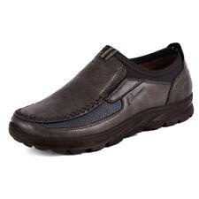 Cuero zapatos Casual transpirable antideslizante mocasines moda hombre mocasines
