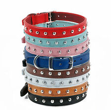 Leather Adjustable Dog Collars