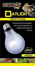 REPTILEPRO DAYLIGHT HEAT LAMP LIGHT BULB for REPTILE TERRARIUM VIVARIUM 100W