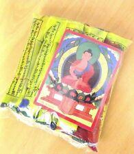 5 in 1 SET MEDIUM 20 x 14 CM Buddhist Tibetan Prayer Flags with Mantra print