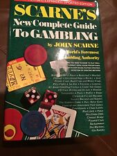 Scarne's New Complete Guide To Gambling Sports Betting Horse Racing Poker