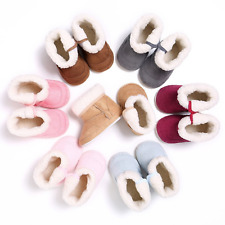 Baby Shoes Boot Newborn Thick Fur Booties Girls Boys Super Warm Winter