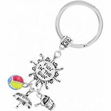 NWT New Brighton NATURE WALK Key Fob Bee Butterfly Ladybug Bird Charms MSRP $58