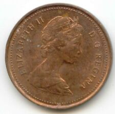 Canada 1981 Penny Canadian 1 Cent Maple Leaf 1c EXACT COIN SHOWN ~