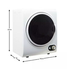 Pick Up Only Magic Chef MCSDRY15W 1.5 Cubic Ft Home Laundry Dryer Machine,