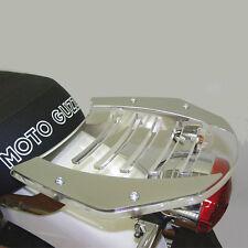 Gepäckträger Gepäckbrücke Moto Guzzi V7 Classic Stahl Plexiglas luggage rack