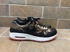 Nike Air Max 1 NRG Golf Shoe Realtree Camo Orange BQ4804-210 Men's Size 10.5
