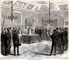 Nizza,Nice: Firma Passaggio di Sovranità dal Regno di Sardegna alla Francia.1860