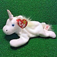 198c26ccee4 NEW Ty Beanie Baby Mystic Unicorn Toy Soft Mane Iridescent Horn PE Plush -  MWMT