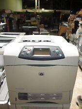 HP LASERJET 4240N  Pages since last maintenance 59313 PRINTER w/ USB&Power Cable