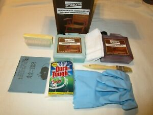 Amazonia 8 pc Maintenance/Restore Kit Accessories for Hardwood Garden Furniture
