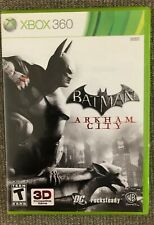 BATMAN: ARKHAM CITY - Xbox 360 With Manual