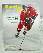 New listing Sports Illustrated January 31 1966 Stan Mikita Chicago Blackhawks