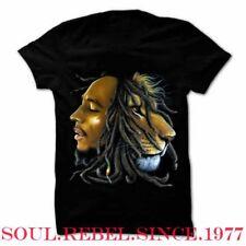 Bob Marley Lion Reggae Punk Rock Alternative Men'S Sizes T Shirt