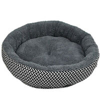 Cushion warm couch bed for pet puppy dog cat in winter-Grey S C5Q7