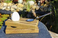 Eierbecher aus Holz fürs Esszimmer