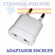 Adaptador enchufe corriente de US a EU (de americano a europeo)APARATOS DE CHINA