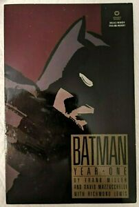 Batman: Year One VG/VF - Frank Miller 1988 1st printing DC Comics