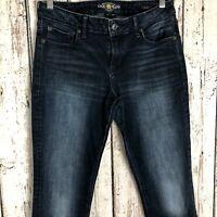 LUCKY BRAND Women's Denim Faded Jeans Lolita Skinny Dark Wash Size: 8/29