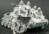 1/35 Scale WW2 Japanese Tank Crew Resin Model Kit (5 Figures) WWII