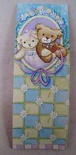 10 NOS Antioch Publishing Magnet Bookmark Teddy Bear Bride Groom Wedding Favors